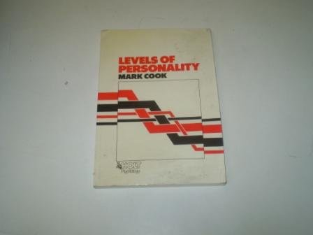 9780275916015: Levels Personality