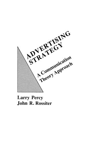 9780275916923: Advertising Strategy: A Communication Theory Approach