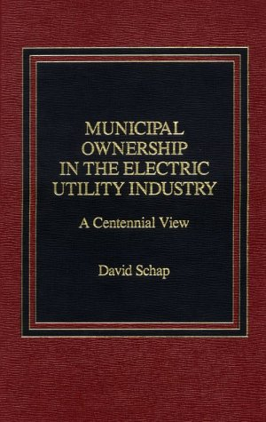 9780275920340: Municipal Ownership in the Electric Utility Industry: A Centennial View