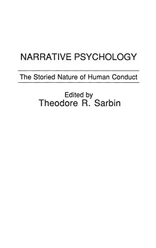 9780275921033: Narrative Psychology: The Storied Nature of Human Conduct
