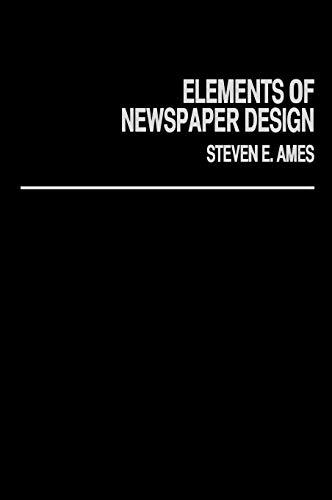 9780275923303: Elements of Newspaper Design