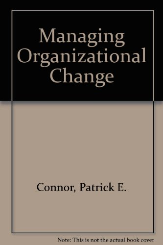 9780275928261: Managing Organizational Change