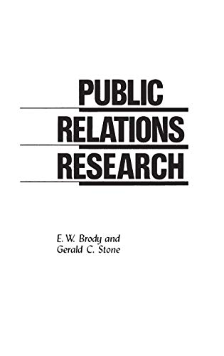 Public Relations Research: E W Brody,
