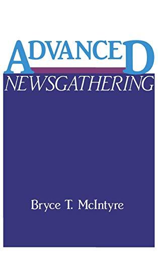 9780275935221: Advanced Newsgathering