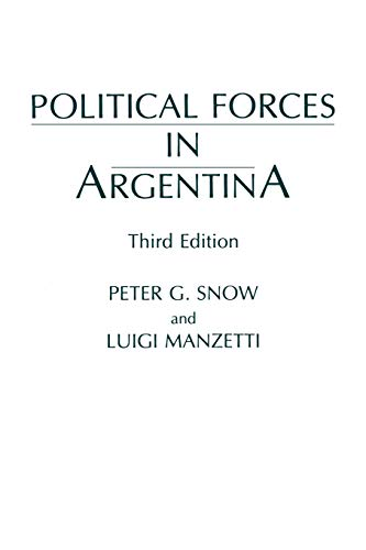 POLITICAL FORCES IN ARGENTINA