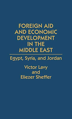 9780275938277: Foreign Aid and Economic Development in the Middle East: Egypt, Syria, and Jordan