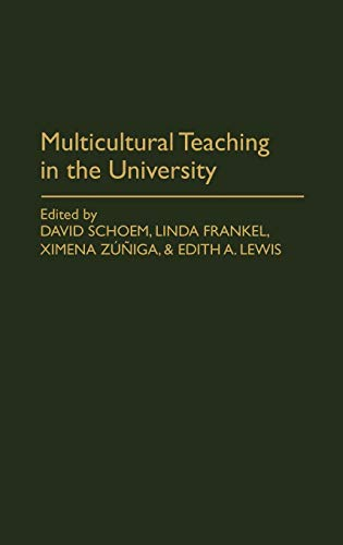 Multicultural Teaching in the University (Contributions in Political Science): Patricia Myers