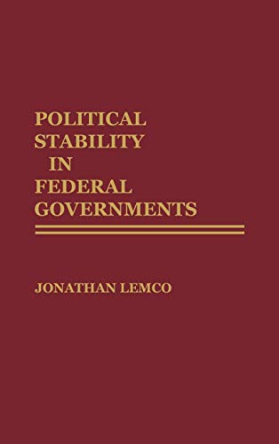 Political Stability in Federal Governments