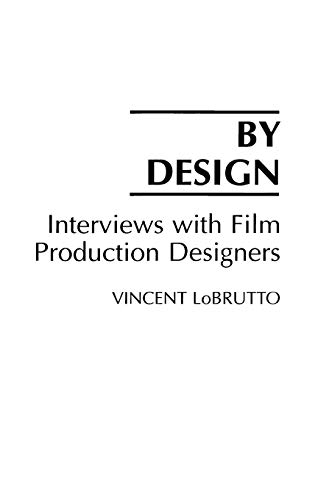 9780275940300: By Design: Interviews with Film Production Designers
