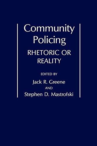 9780275940638: Community Policing: Rhetoric or Reality