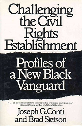 9780275944605: Challenging the Civil Rights Establishment: Profiles of a New Black Vanguard
