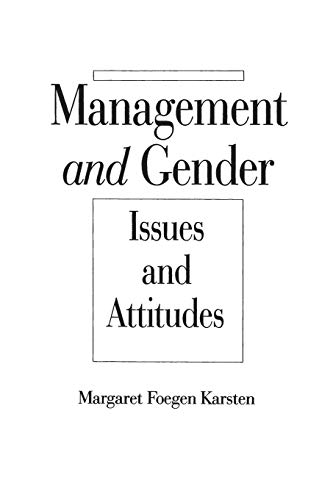 9780275945015: Management and Gender: Issues and Attitudes