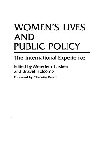 Women's Lives and Public Policy: The International Experience