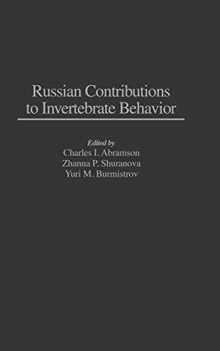 9780275945251: Russian Contributions to Invertebrate Behavior
