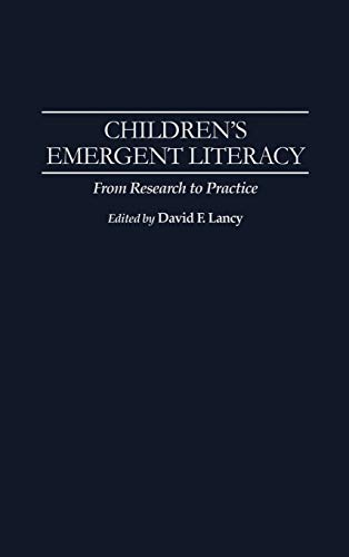 9780275945893: Children's Emergent Literacy: From Research to Practice