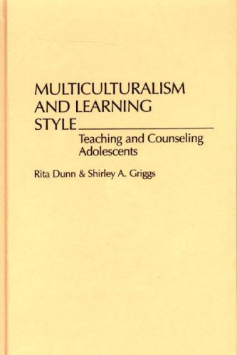 9780275947620: Multiculturalism and Learning Style: Teaching and Counseling Adolescents