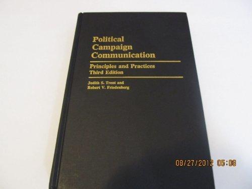 9780275948832: Political Campaign Communication (Praeger Series in Political Communication)