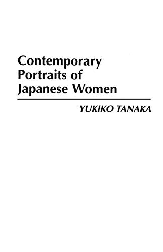 9780275951733: Contemporary Portraits of Japanese Women (Culture)