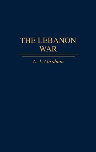9780275953898: The Lebanon War (Studies in the Shoah; XIII)
