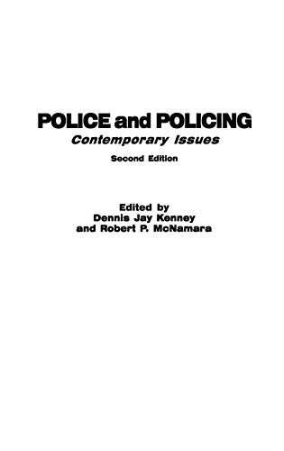 Police and Policing: Contemporary Issues