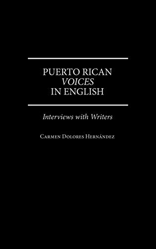 9780275958091: Puerto Rican Voices in English: Interviews with Writers