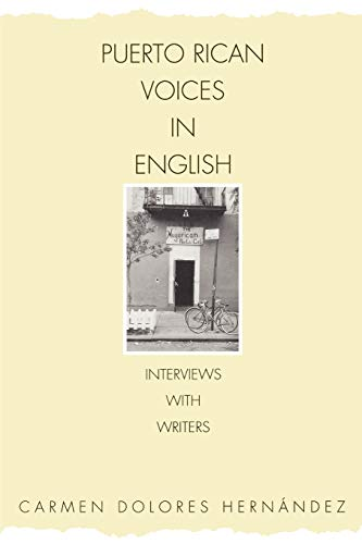 9780275958107: Puerto Rican Voices in English: Interviews with Writers