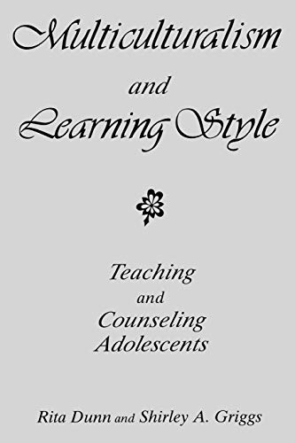 9780275964801: Multiculturalism and Learning Style: Teaching and Counseling Adolescents