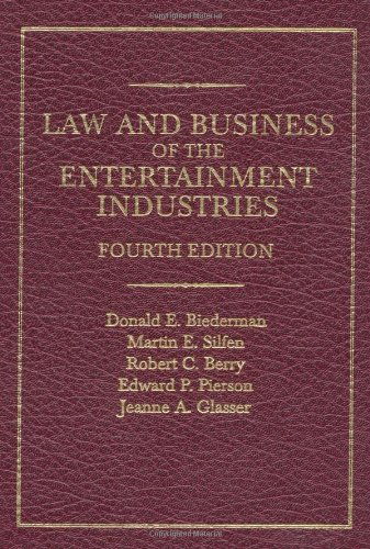 9780275969837: Law and Business of the Entertainment Industries, 4th Edition