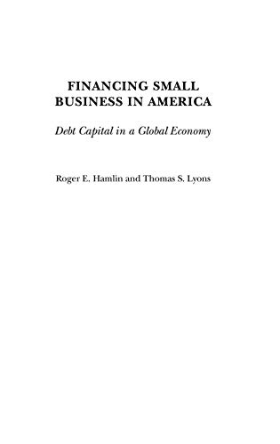 9780275976736: Financing Small Business in America: Debt Capital in a Global Economy