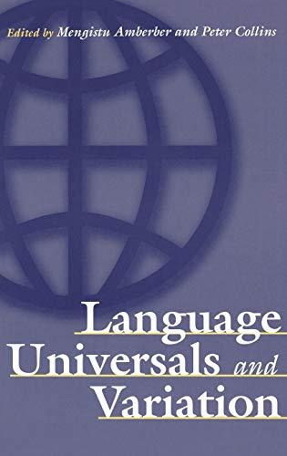 9780275976835: Language Universals and Variation