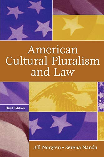 9780275986995: American Cultural Pluralism and Law, 3rd Edition