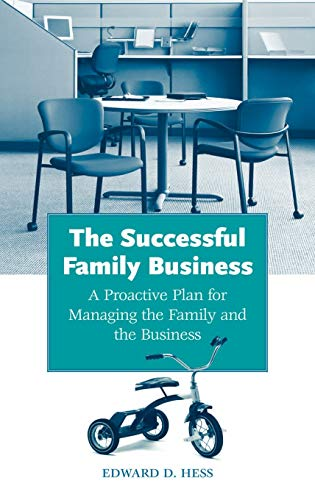 9780275988876: The Successful Family Business: A Proactive Plan for Managing the Family and the Business
