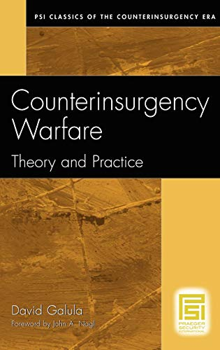 9780275992699: Counterinsurgency Warfare: Theory and Practice (Psi Classics in the Counterinsurgency Era)