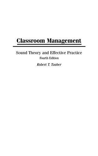 9780275996680: Classroom Management: Sound Theory and Effective Practice, 4th Edition