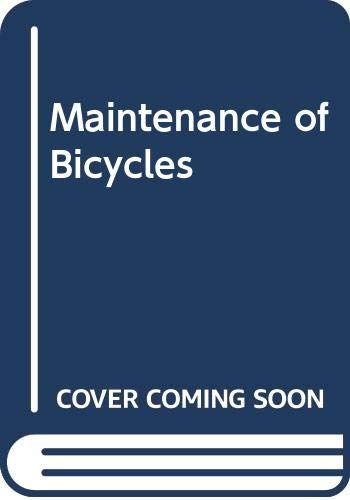 Maintenance of Bicycles (9780276001277) by Reader's Digest