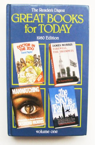 Great Books for Today 1980 (9780276002014) by David Taylor Desmond Morris Arthur Weingarten James Morris