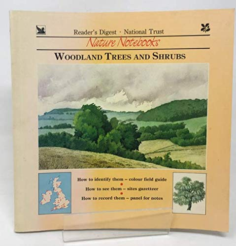 Woodland Trees and Shrubs (National Trust Nature Notebooks) (0276392914) by Reader's Digest