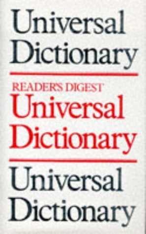 9780276411588: Universal Dictionary (Readers Digest)