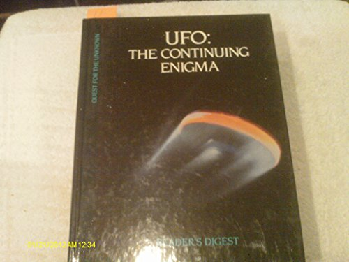 9780276420610: UFO: The Continuing Enigma (Quest for the Unknown)