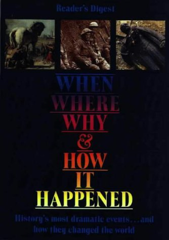 9780276421051: When, Where, Why, and How It Happened