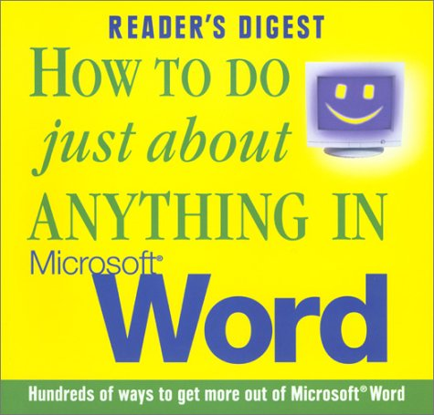9780276425882: How to do Just About Anything in Microsoft Word