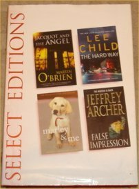 9780276441066: 'READER'S DIGEST SELECT EDITION; JACQUOT AND THE ANGEL, THE HARD WAY, MARLEY AND ME, FALSE IMPRESSION'