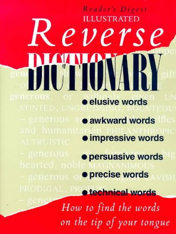 9780276495410: Reverse Dictionary