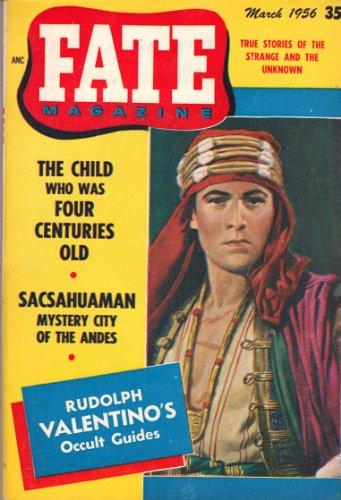 9780276556036: Fate Magazine, March 1956 with Rudolph Valentino Cover (Vol. 9 No. 3)