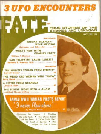 9780276569050: Fate Magazine, May 1969 Three UFO Encounters (Volume 22, No. 5)