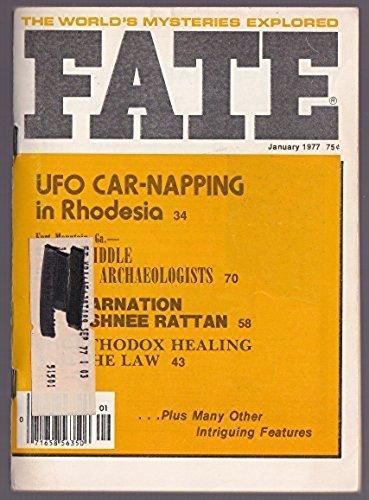 9780276577017: Fate Magazine, January 1977: UFO in Rhodesia (Vol. 30, No. 1)