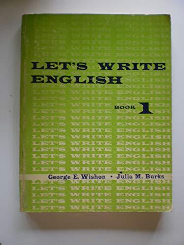 9780278475229: Let's Write English