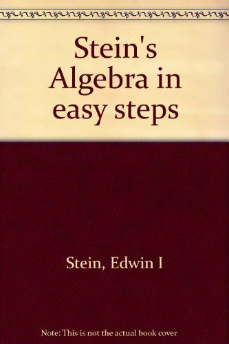 9780278479326: Stein's Algebra in easy steps