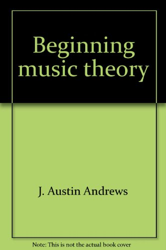 9780278488557: Beginning music theory