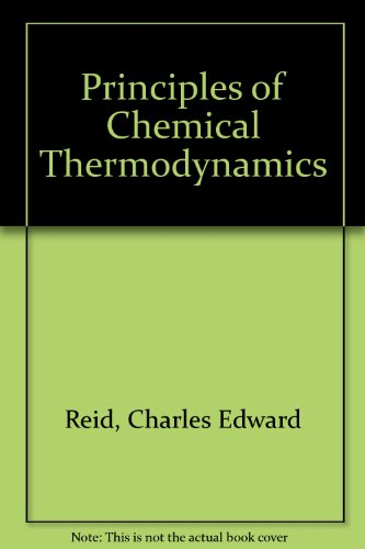 9780278918306: Principles of Chemical Thermodynamics